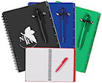 5 X 7 Spiral Notebooks With Pen